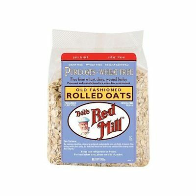 BOB'S RED MILL Wheat Free Pure Rolled Oats 907g