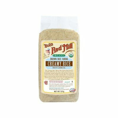 BOB'S RED MILL Organic Creamy Rice Hot Cereal 737g