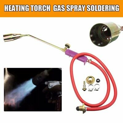 Heating Propane Butane Gas Flame Torch Hose Roofer Plumber Soldering Tool