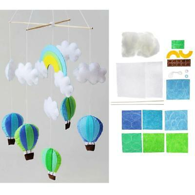 Baoblaze Non Woven Fabric Wind ChimeDIY Felt Materials Package Craft Decor