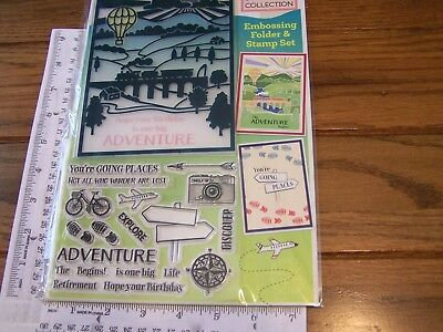 Pretty Quick Embossing Folder 5in x 7in Windmill SceneScenescape Collection