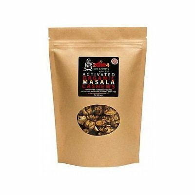 2DIE4 LIVE FOODS Activated Organic Masala Cashews