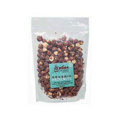 2DIE4 LIVE FOODS Activated Organic Hazelnuts