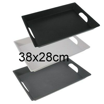 New Matte Melamine Serving Tray Platter Rectangle Catering Service Tray