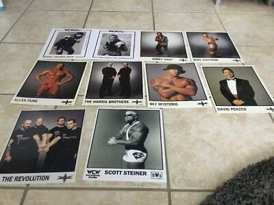 WWE/WCW Promo Photo Reprint / Original 10 Fotos 9