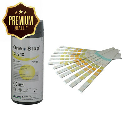 Health Mate 10 Parameter Professional/ GP Urinalysis Multisticks Urine Strip...
