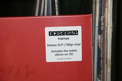 2 LP OCEANSIZE Frames 2014 SEALED Deluxe GF 180gr now MEGA RARE !!!