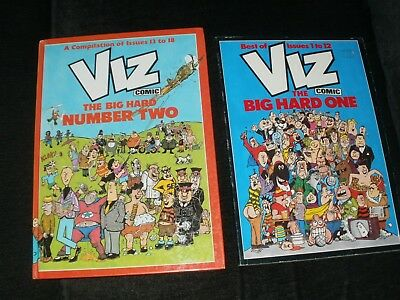 Viz Annuals The Big Hard One & The Big Hard Number Two Best Of Issues 1-18