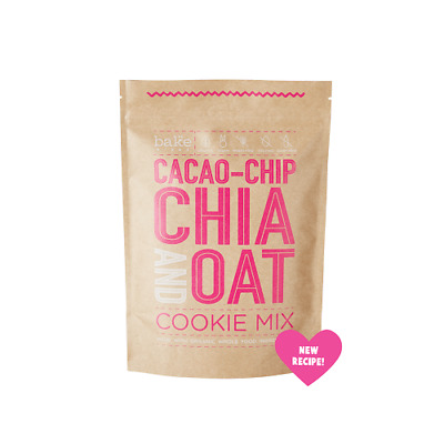 BAKE MIXES Cacao-Chip Chia & Oat Cookie Mix
