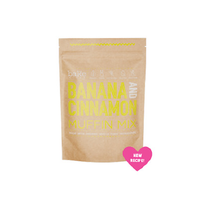 BAKE MIXES Banana & Cinnamon Muffin Mix
