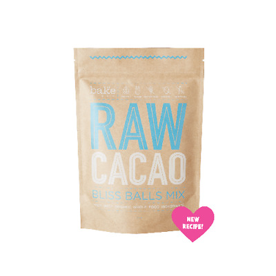 BAKE MIXES Raw Cacao Bliss Balls Mix