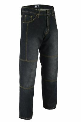Motorbike Motorcycle Denim Armour Padded Reinforced Trouser Jeans Pant For Biker