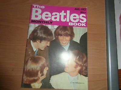 The Beatles August 1983 Booklet