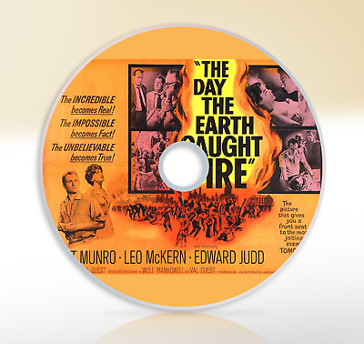 The Day The Earth Caught Fire (1961) DVD Sci-Fi Movie / Film Edward Judd