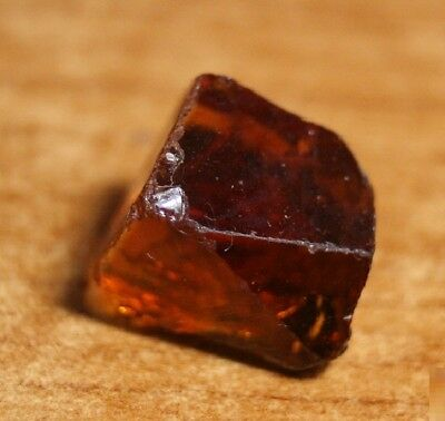 14.6ct Madeira Citrine Crystal Point - Flawless Lapidary / Specimen Rough