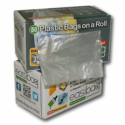 """Easibag 100 Large 18"""" / 13 Litre Plastic All Purpose Multi General Use Bags on a"""