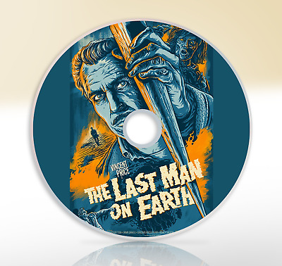The Last Man On Earth (1964) DVD Classic Sci-Fi Horror Movie Film Vincent Price
