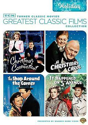 TCM Greatest Classic Films Collection: Holiday (4 Films DVD 2-Discs)  NEW!