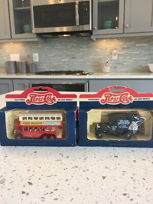 1:64 Limited Edition Pepsi-Cola Lot Of 2 Collectable Die Cast Models Vintage