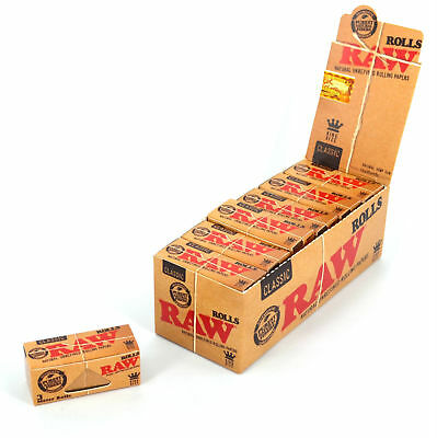 RAW Classic ROLLS 3M King Size Rolling Papers | RYO