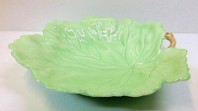 Carlton Ware Australian Design Leaf Shape Bowl.