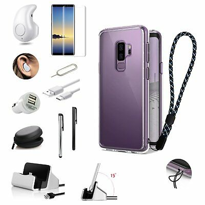 11 x Case Charger Wireless Earphone Accessory Pack For Samsung S7 S8+ S9+ Note 8