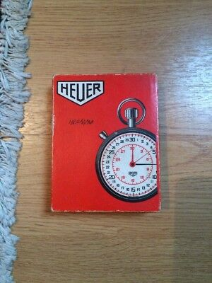 Heuer Stop Watch In Full Working And Very Good Condition