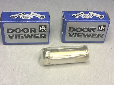 "35-57Mm Brass Security Door Viewer Adj 160 Deg 1 3/8""-2 1/4"" (Qty 2) #62267"