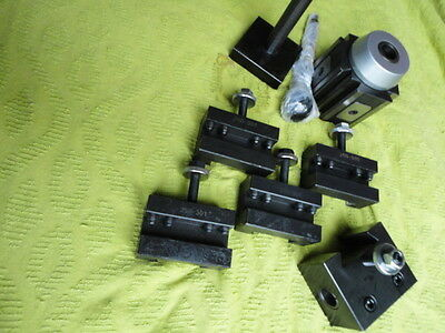 Lathe Large Tool Post with Quick Change Tool holders