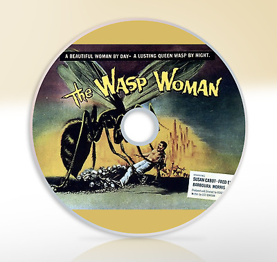 The Wasp Woman (1960) DVD Classic Horror Movie / Film Susan Cabot