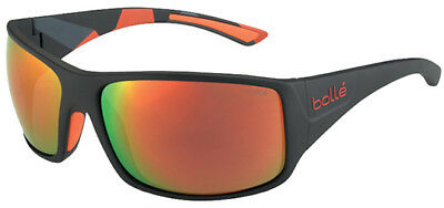 Bolle Tigersnake Polarized Sunglasses w/ Red Orange Mirror Lens 12130 - Italy