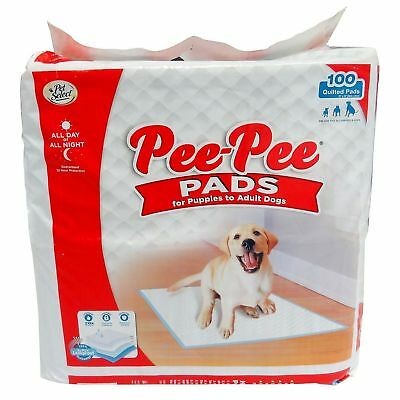 100 - 22x33 Dog Puppy Pet Housebreaking Pad, Pee Training Pads, Underpads