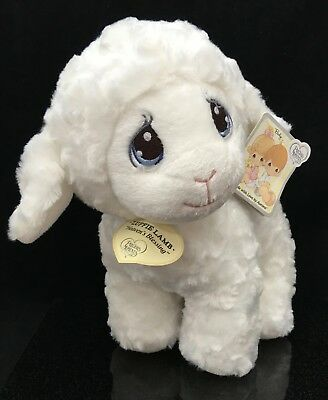 Precious Moments Baby Aurora Luffie Lamb Wind-Up Musical Stuffed Animal Plush