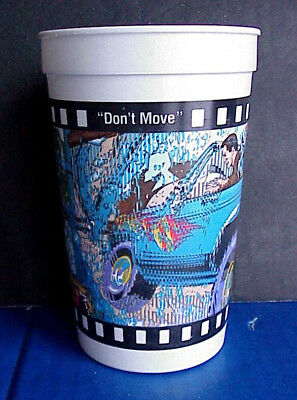 """1993 Burger King """"Last Action Hero"""" 16oz Cup  Jack Slater Crashes in on Benedict"""