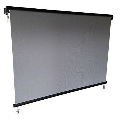 Outdoor Roller Blind with Hood /Sun Filter Screen / MADE-TO-SIZE max 3m Width