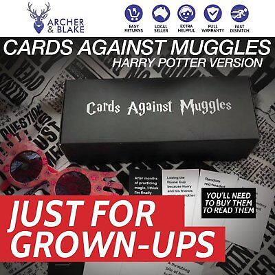 NEW 2018 Cards Against Muggles - Harry Potter Version of Cards Against Humanity