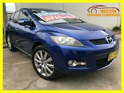 2007 Mazda CX-7 ER Series 1 Luxury Wagon 5dr Spts Auto 6sp 4WD 2.3T [MY07] Blue