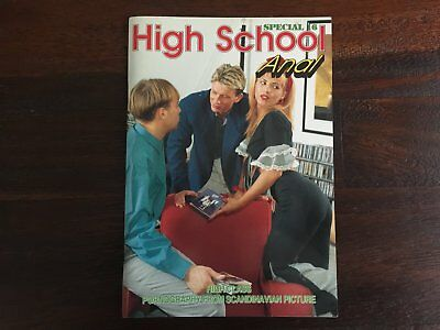High School special 16 Anal - European hardcore erotic teen sex magazine