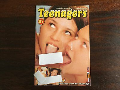 Seventeen Teenagers 67 - vintage European hardcore erotic teen sex magazine