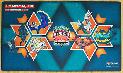 Pokemon International Championships London 2017 Spielmatte/Playmat Neu