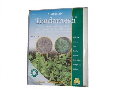 2.1m x 4m Agralan Tendamesh Protects Young Tender vegetables against insects