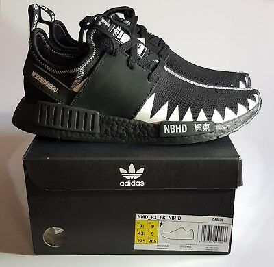 newest 57069 bebf0 ADIDAS ORIGINALS X Neighborhood Nmd_R1_Pk Da8835 (Us 9.5, Uk 9, Jp 275,Chn  265)