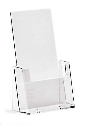 Taymar DL Free Standing Brochure Holder, 1/3 A4 1 Pocket Pack of 10 Holders Sale