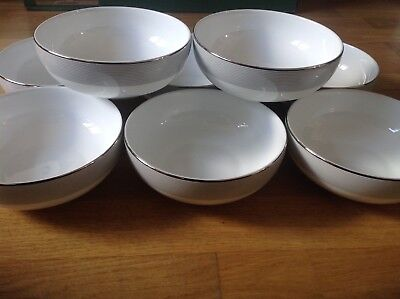 KHOME 8 Stunning Pasta / Cereal Bowls 16.5cm Designed by Kelly Hoppen .