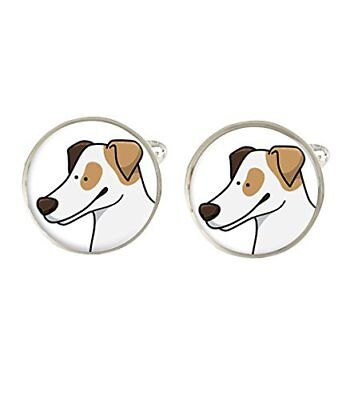 Cartoon Jack Russell Terrier Mens Cufflinks Ideal Birthday Fathers Day Gift C709