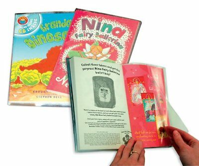 Plastic Book Jackets 198mm (pack of 10)