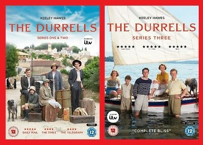 The Durrells All Three Seasons Pre-Order Season 1, 2 and 3 Brand New Sealed