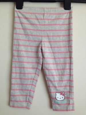 Girls Hello Kitty Leggings Aged 12/18 Months