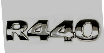 04 piece set 3D Letter Numbers for Scania R520 Stainless Steel Cover Decorations