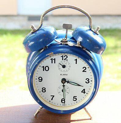 INSA made in Yugoslavia / VINTAGE alarm clock one bell